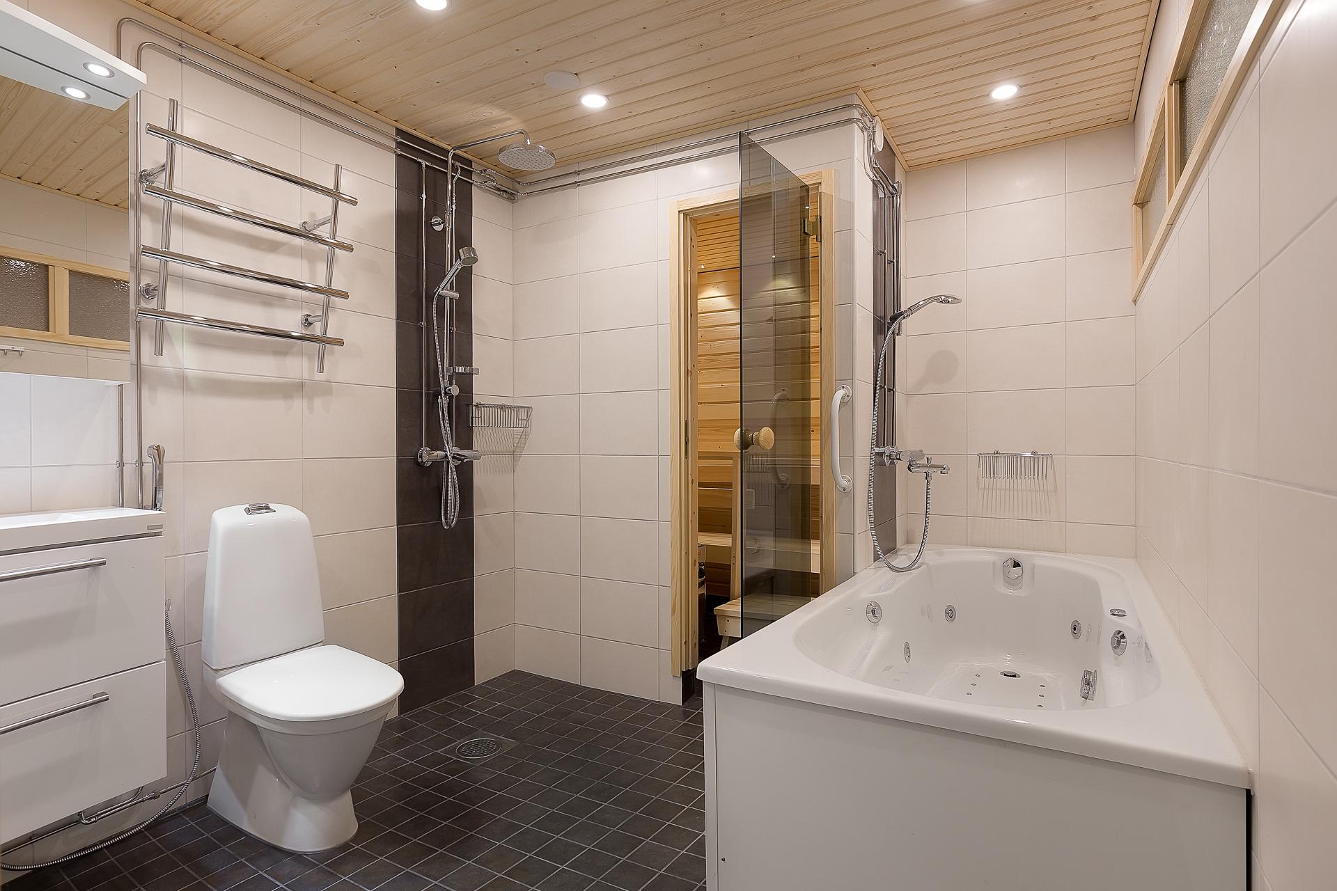 Kylpyhuone ja sauna remontti